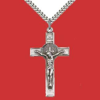 Sterling Silver & Gold Crucifix/Cross Pendants