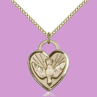 Sterling Silver & Gold Medal Pendants