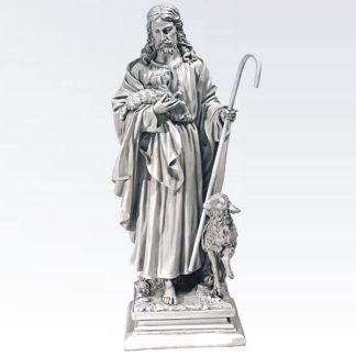 Jesus, The Good Shepherd Garden Statue