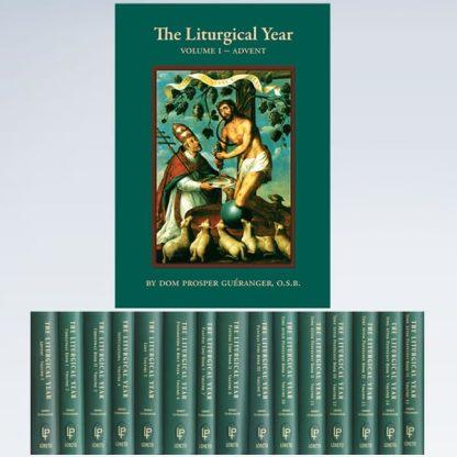Liturgical Year 15 Volume Set by Dom Gueranger