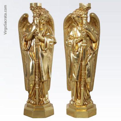 Padova Golden Guardian Angel Sculptures