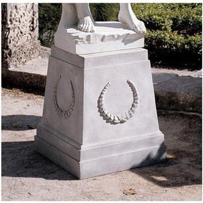 Sculptural Plinth Base