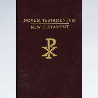 Clementine Vulgate & Challoner Rheims New Testament in Latin & English