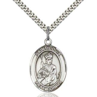 St Louis (King Louis IX of France) Pendant
