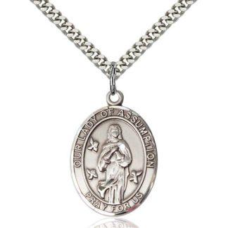 Our Lady of Assumption Pendant