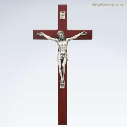 Cherry Crucifix Silver Corpus