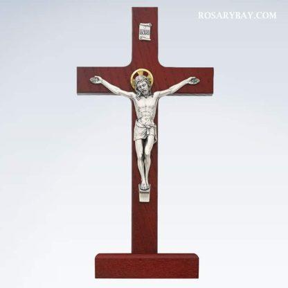 Tabletop Crucifix Standing Cross