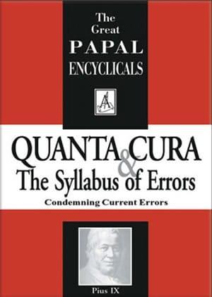 Quanta Cura Condemning Current Errors