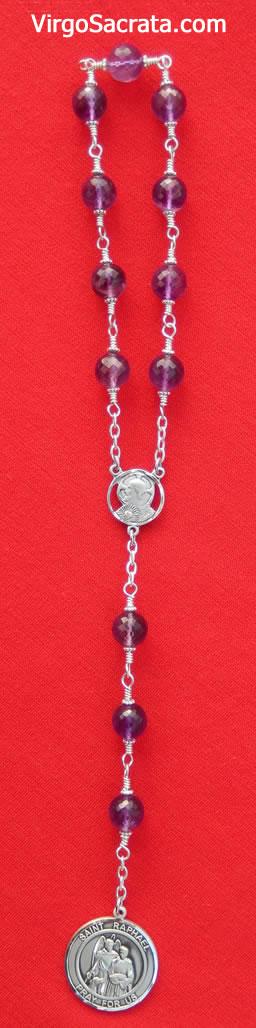 Saint Raphael prayer beads