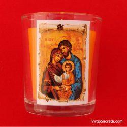 Jesus, Mary and Joseph Votive Candles