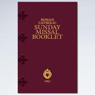 Sunday Missal Latin Mass Booklet