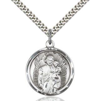 St Joseph Oratory Medal Pendant