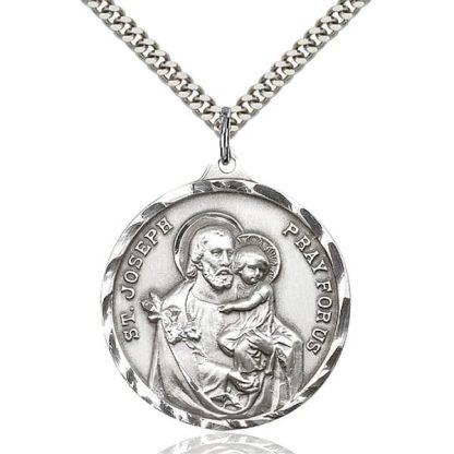 Saint Joseph Medal Pendant