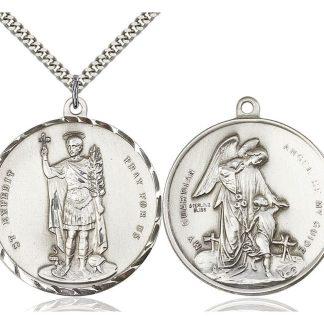 St Expeditus Medal Pendant