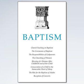 Baptismal Booklet on Ceremony of Baptism