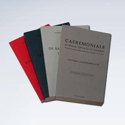 Callewaert Caeremoniale and 3 Liturgicae Institutiones Volumes