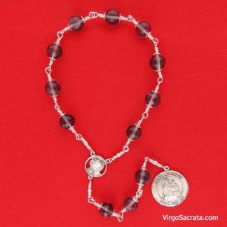 St-Raphael the Archangel chaplet beads