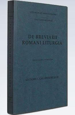 De Breviarii Romani Liturgia