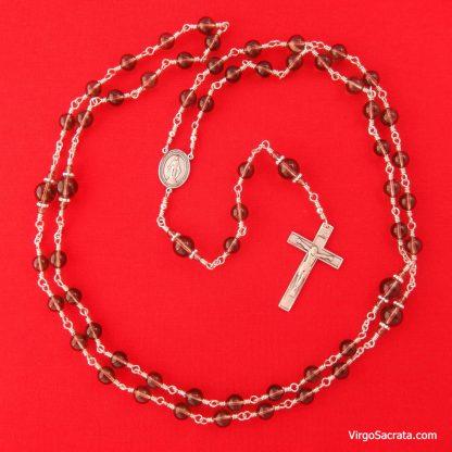 Smoky Quartz Gemstones Rosary