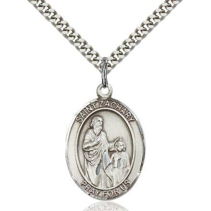 St Zachary Medal Pendant