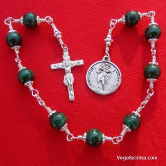 St Christopher Chaplet Beads