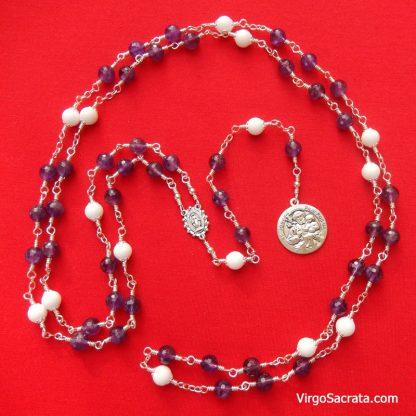 Saint Joseph Rosary Chaplet Prayer Beads