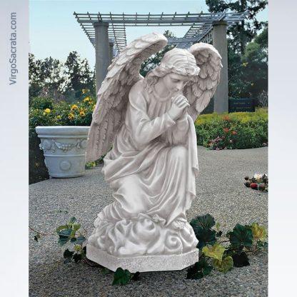 Praying Basilica Angel Statue