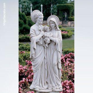 Holy Family Garden Statue