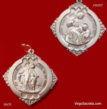 St Anne Chaplet Medal