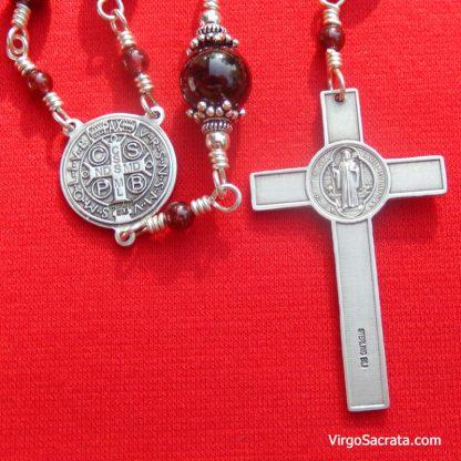 Saint Benedict Crucifix Rosary
