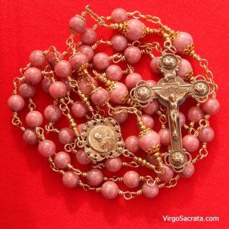 St. Thérèse of Lisieux Antique Replica Rosary