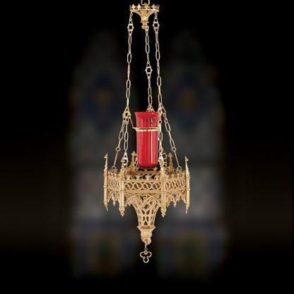 Ornate Hanging Sanctuary Lamp