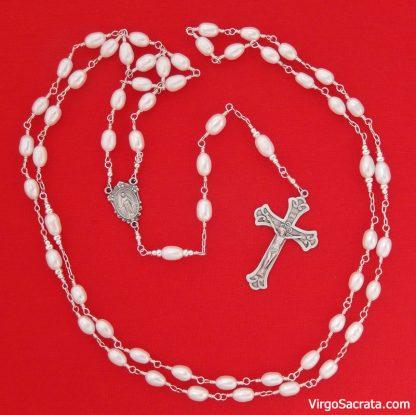 Freashwater pearl rosaries
