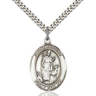 St Hubert or Saint Hubertus Pendant