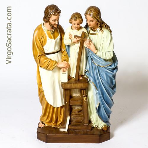 Baby Jesus Mary Pure Beeswax Figurine Joseph Holy Family