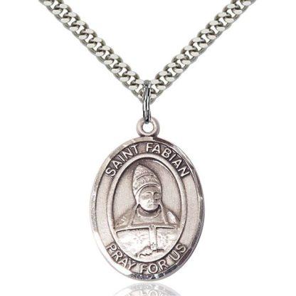 St Fabian Medal Pendant