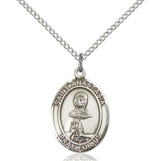 St Anastasia Medal Pendant