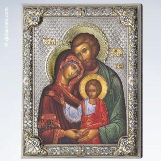 Icon of the Holy Family of Jesus, Mary, & Joseph