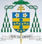 Coat of arms of the Italian Archbishop Carlo Maria Viganò