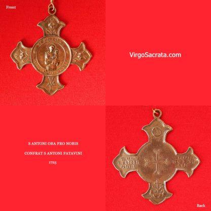 S Antoni Antique Medal